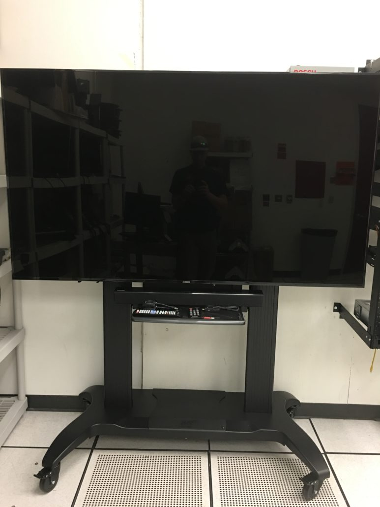 Front of Television